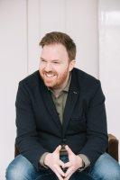 Photo of voiceover artist Bernard O'Shea