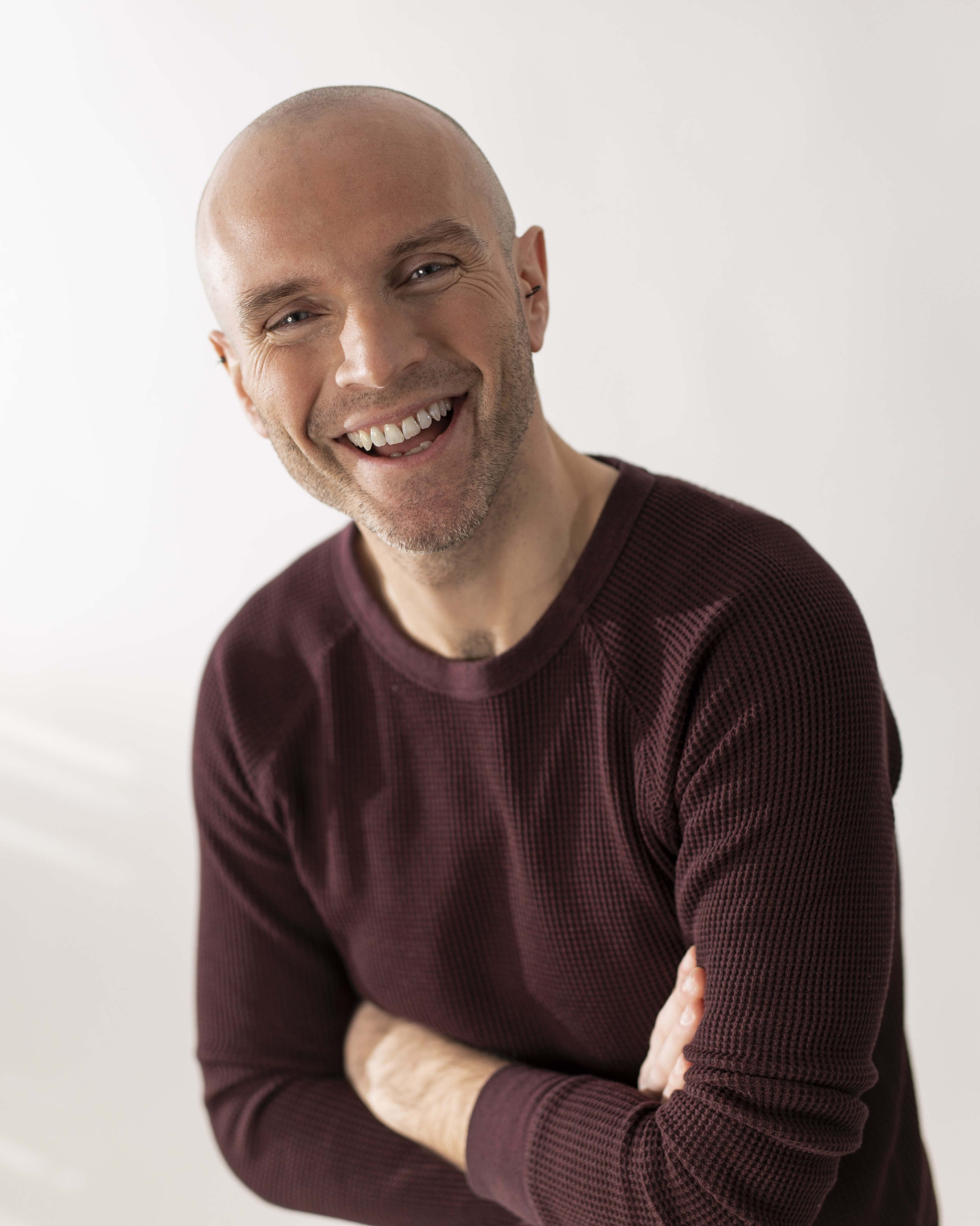 Photo of voiceover artist Tadhg Hickey