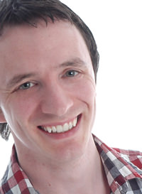 Photo of voiceover artist Gearoid Farrelly