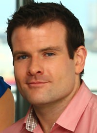 Photo of voiceover artist Tadhg Enright